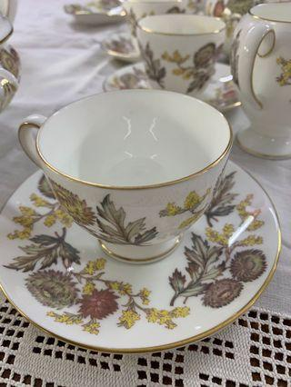 Wedgwood tea and coffee set (for 6 people)