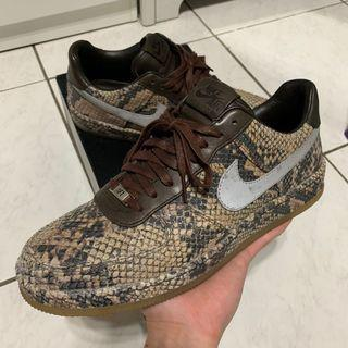 🚚 Nike Air Force 1 Downtown Low  AF1 Python Snakeskin 蟒紋 3M反光