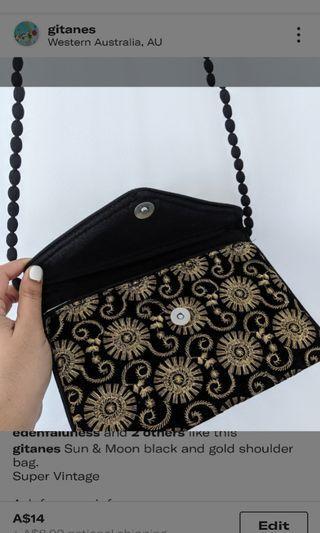Black Sun & Moon Bag