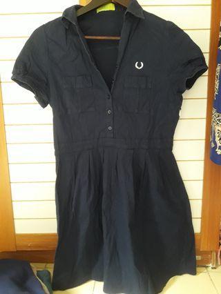 mini dress Blue Navy