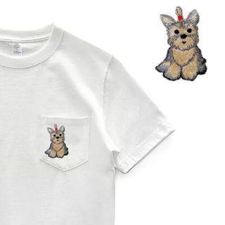 日本約瑟犬 布章Tshirt