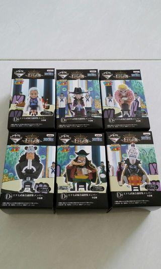 Ichiban kuji WCF one piece Figure selection