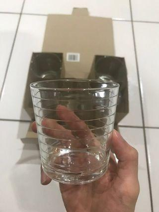 Glass cups - Set of 6