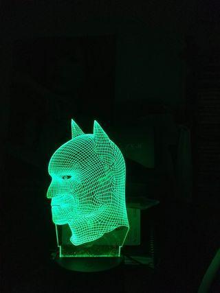 3D BATMAN LED LAMP W BLACK BASE