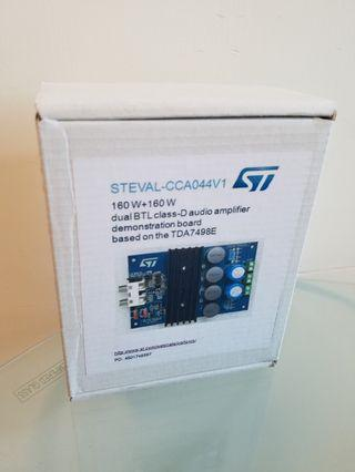 STEVAL-CCA044V1 demonstration board for TDA7498E