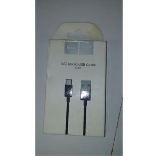 Hoco x23 Micro-USB Cable (1m)
