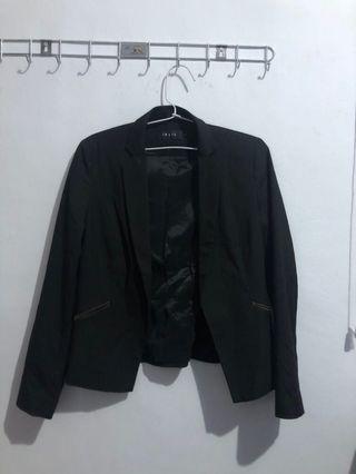 Invio blazer black stripe
