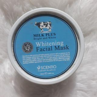 SCENTIO whitening facial mask {bright n white}
