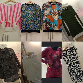 Mix & Match All top blouse pallazo