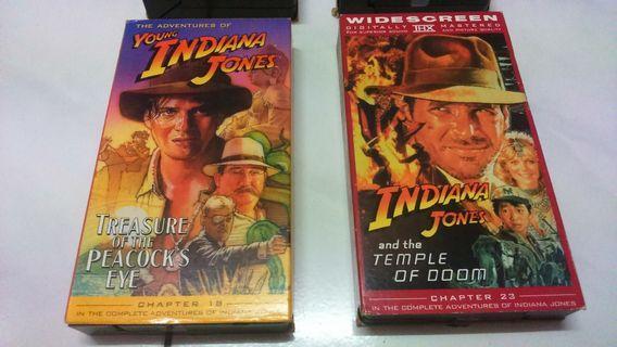 VHS Tape Indiana Jones