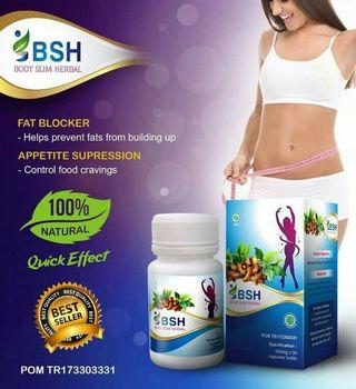 BOX + STIKER BARCODE ] BODY SUSUT HERBAL ~ BSH ~ PELANGSING HERBAL