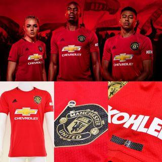 Manchester United 19/20 Home Kit 💯 Accurate Club Badge