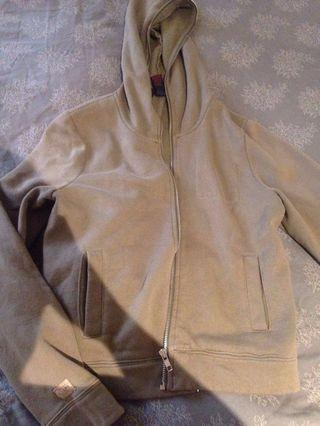 Ralph Lauren zip up large olive