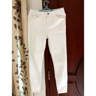 NEW! Denim & co white jeans