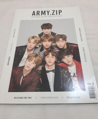 BTS 4TH OFFICIAL ARMYKIT MAGAZINE