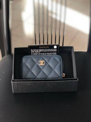 BNIB Chanel Zippy Cardholder
