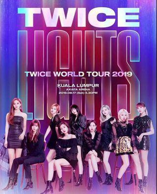 (TICKETING SERVICE)TWICE WORLD TOUR IN KL 2019