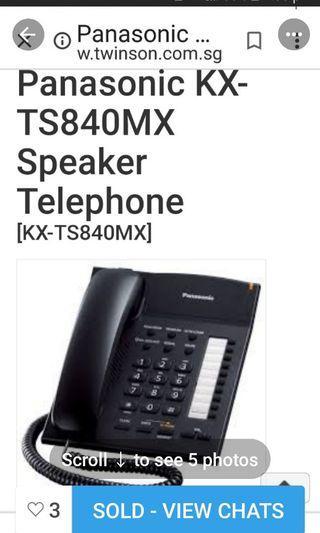 Panasonic corded speaker phone
