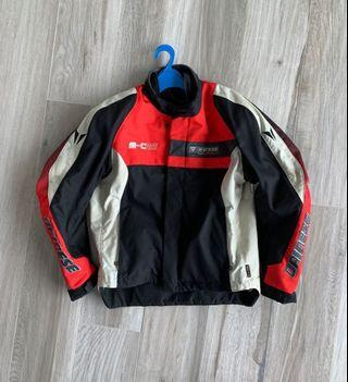 Dainese Motorcycle Racing Jacket Summer+Winter Dual Use Sz 50