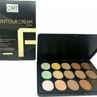 CONTOUR CREAM MENOW 15 Colors / Foundation Shading Concealer Me Now