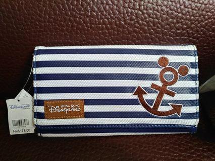 全新香港迪士尼 HK Disneyland正版銀包Wallet