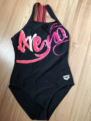 Arena one piece Swimsuit for girl 7-8yo