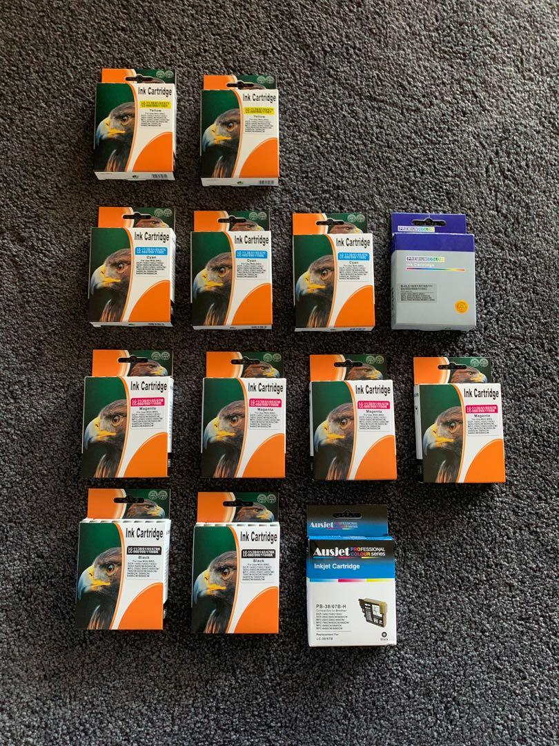 13 x Brand New Printer Ink Cartridges compatible to BROTHER