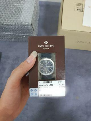 Double Sealed Patek Philippe 5167a