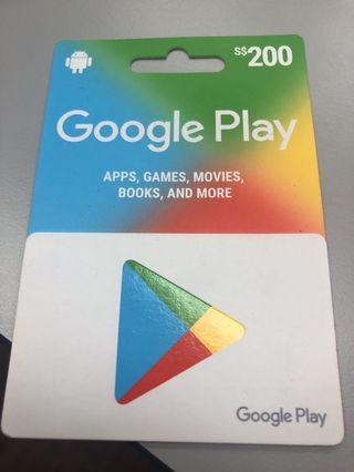 🚚 Google Play Card