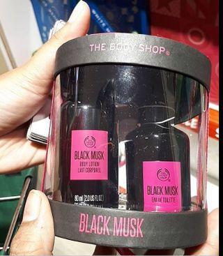 the body shop black musk eau de toilette
