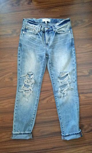 🚚 Mango Relaxed Jeans
