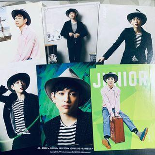 Official GOT7 Jinyoung Star Collection Card / Photocard