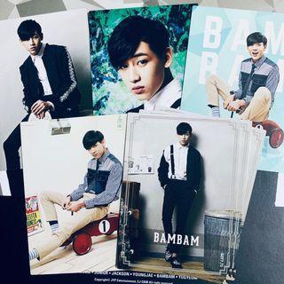 Official GOT7 Bambam Star Collection Card / Photocard