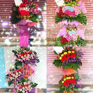 Opening Stands (Congratulations) - Fresh Flowers