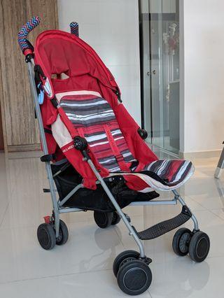 Super long last Maclaren Quest stroller (Red)