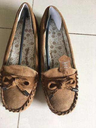 M&S full upper suede leather moccasins loafer