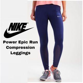 NWOT Size M Nike Power Epic Run Compression Leggings Tights