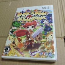 Dokapon Kingdom rare wii game new sealed