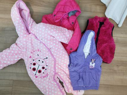 Winter clothing for girls