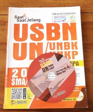 Buku sbmptn Materi dan soal USBN, UN, SBMPTN Matematika IPA bonus CD TOEFL