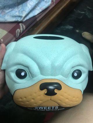 🚚 狗狗面紙盒
