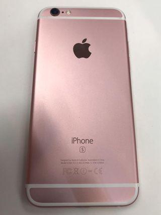 Apple Iphone 6s 64GB 玫瑰金 (二手)