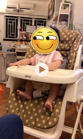 aprica餐椅摇摆床椅