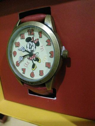 Minnie Mouse Red Watch