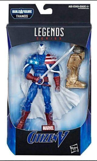 Marvel Legends Avengers Endgame Citizen V 6 inch Figure(with BAF)