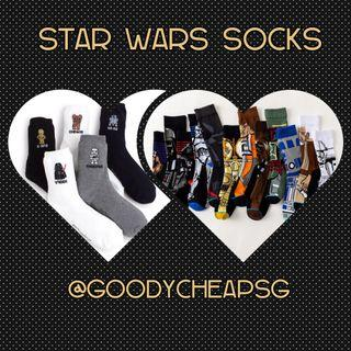SM09 Star Wars Socks