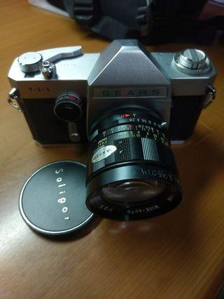 🚚 Richo(sears) TLS M42單眼相機+soligor2.8/28     可議價