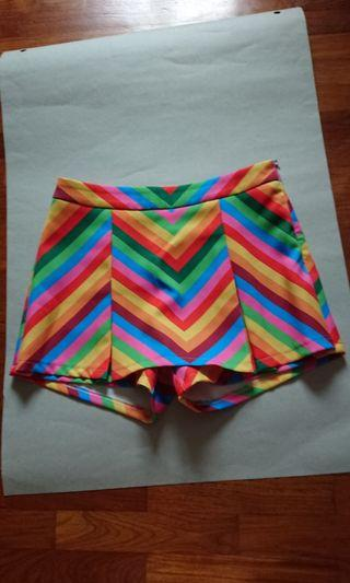 Culottes colorful strips