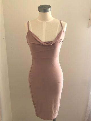Boohoo Night collection dress
