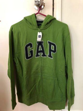 Gap ( 📣 10% off) 全新綠色棉質男仔外套